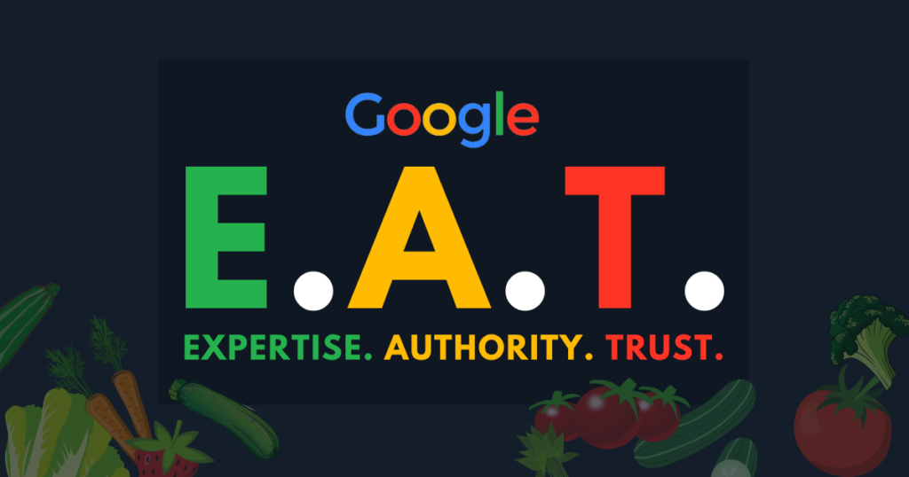 EAT google seo